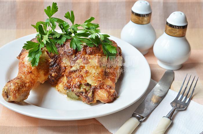 рецепт фаршированной куриной голени с фото