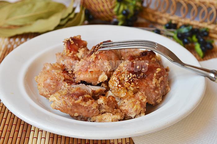 как приготовить мясо в медовом маринаде