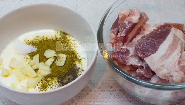 приготовить сливочный маринад