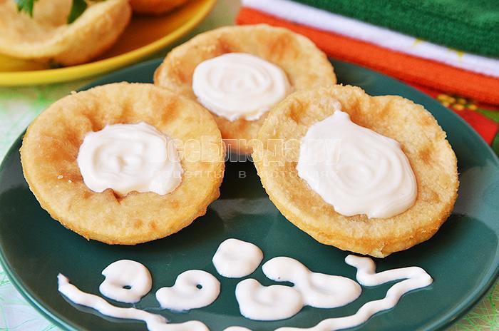 рецепт пирожков бомбочек с картошкой