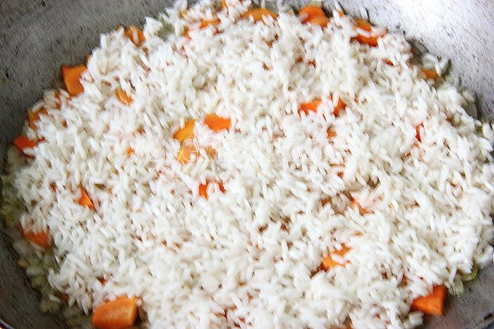 выкладываю рис