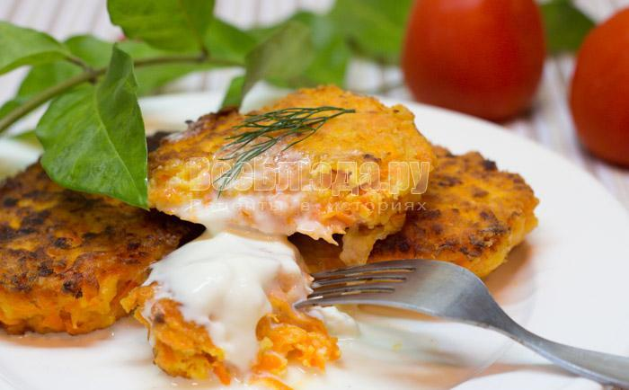 рецепт котлет из морковки