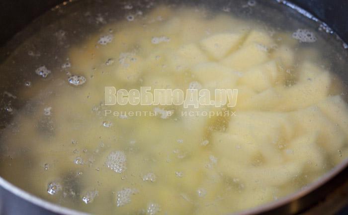 отварить картошку