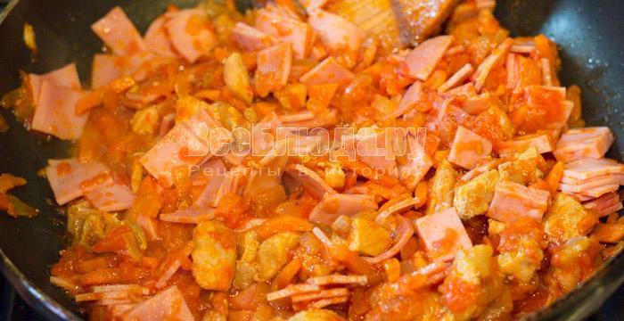 готовая томатная зажарка