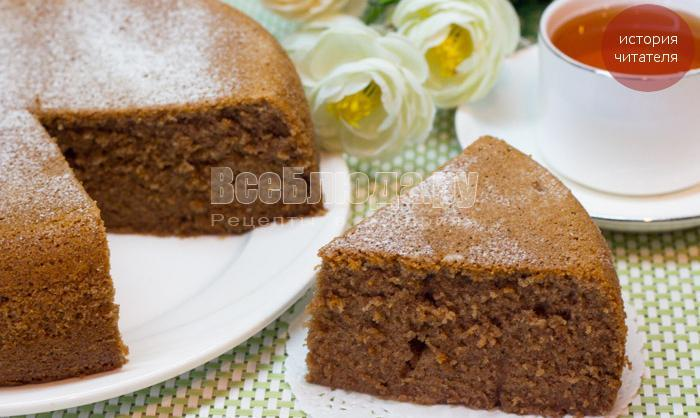 рецепт кекса к чаю быстро и вкусно, на скорую руку