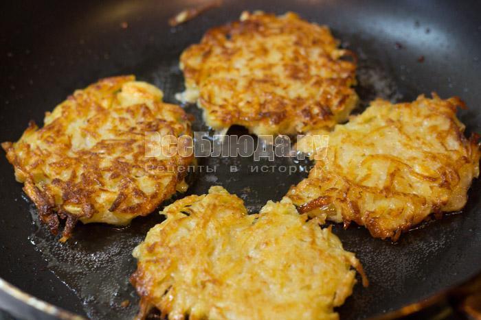 Картофельные драники по маминому рецепту