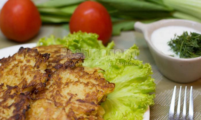 рецепт драников из картофеля