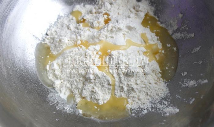 залить оливковое масло