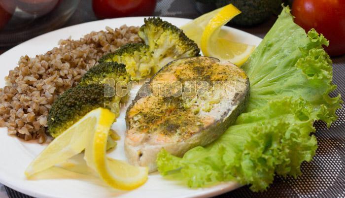 рецепт семги с брокколи на пару в мультиварке