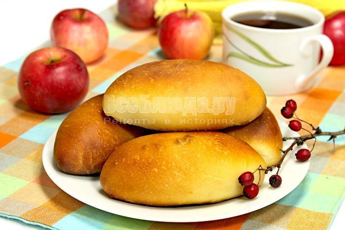 рецепт пирожков на сыворотке с яблоками