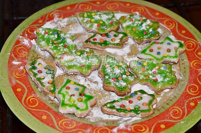 рецепт печенья елочки