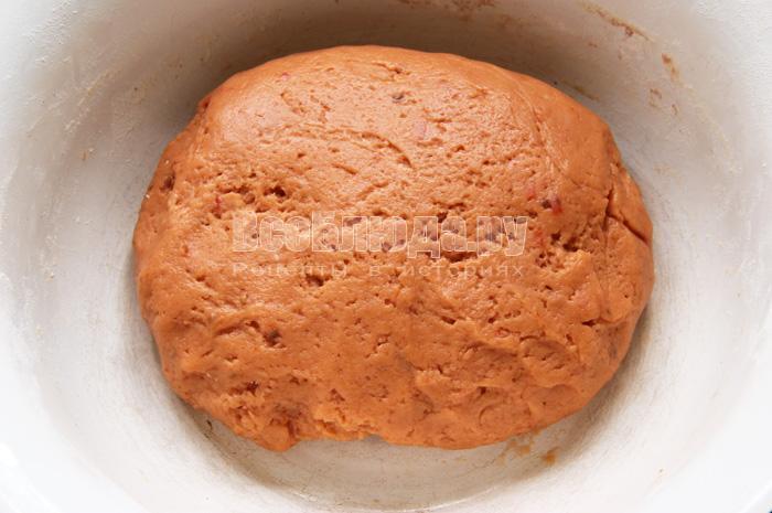 Печенье на томатном соке