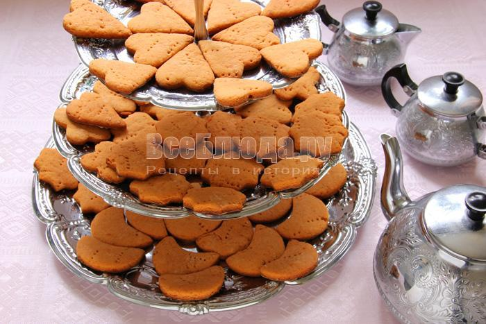 рецепт печенья на томатном соке