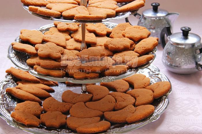простое печенье на томатном соке