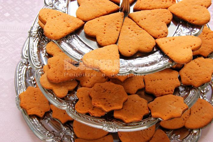 Томатное печенье рецепт с фото