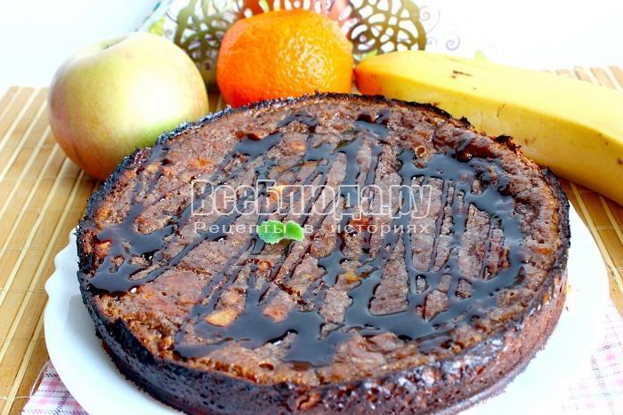 готовый шоколадный тарт