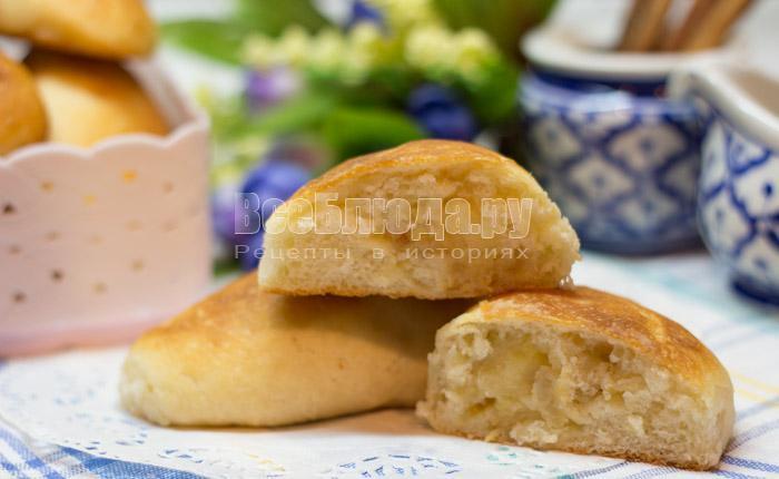 Тесто для пирожков в духовке - быстро и просто