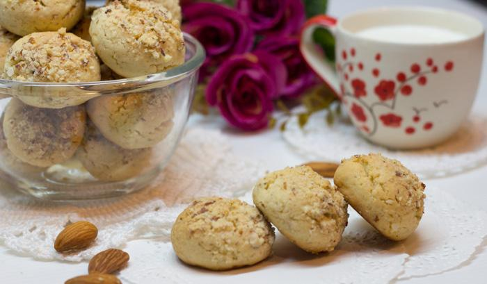 Печенье Филбертины в ореховой крошке