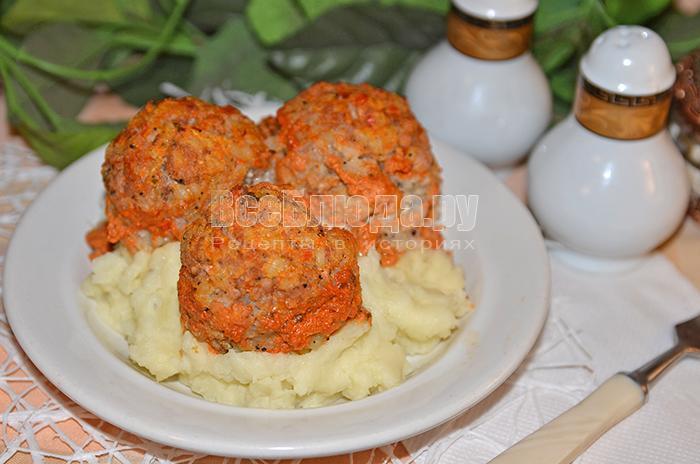 как приготовить тефтели в томатном соусе с кефиром