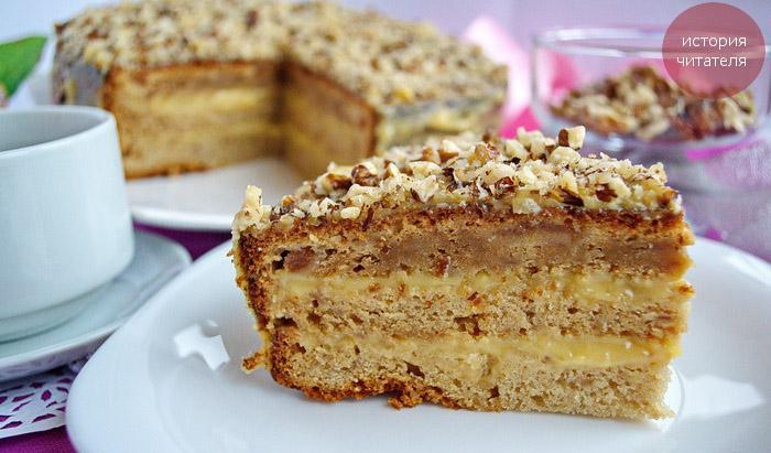 Рецепт Пражского торта с вареньем и фотосессия для сластены