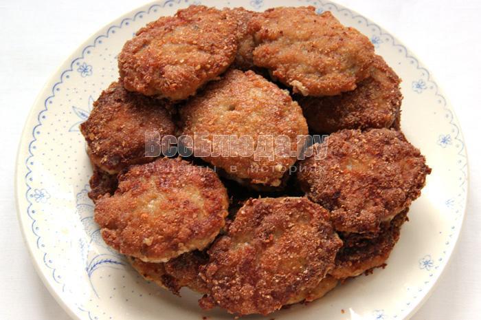 рецепт котлет из мяса и рыбы