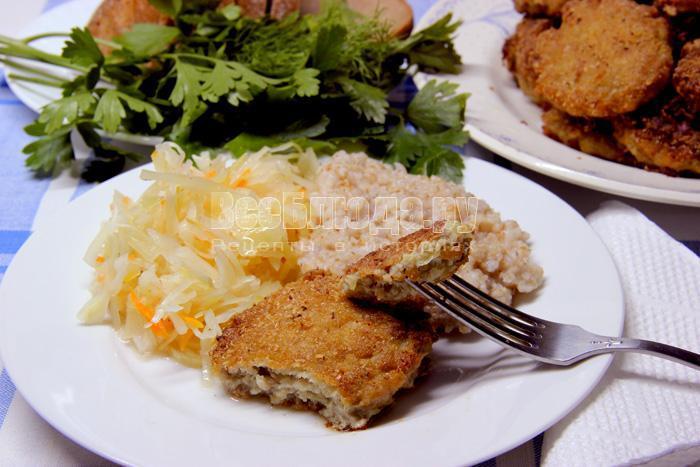рецепт рыбно-мясных котлет