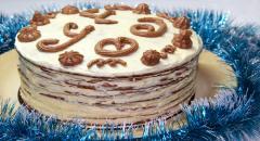 Торт медовое Чудо