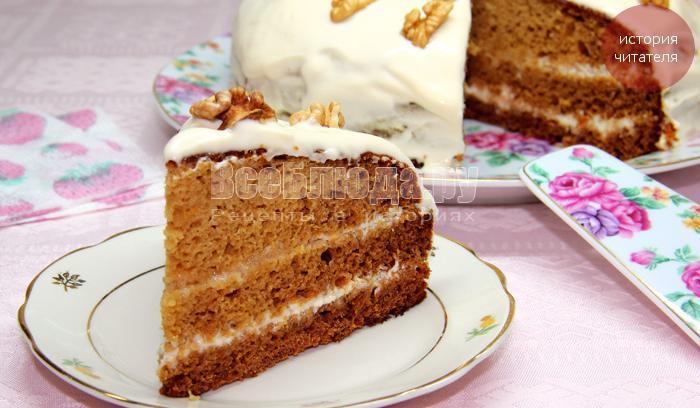 как приготовить торт с вареньем